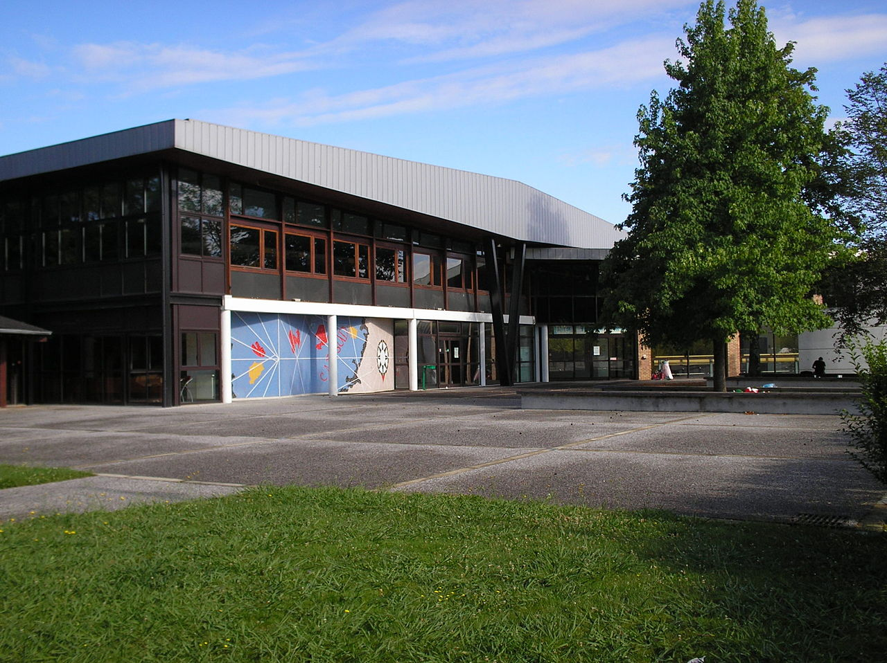 View of Cap Sud universtary restaurant on UPPA campus