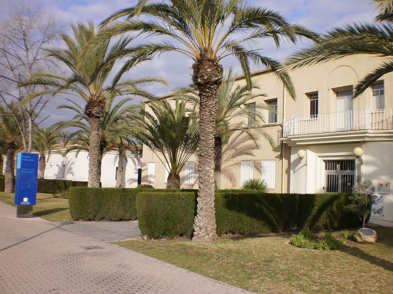 Campus of the University of Alicante